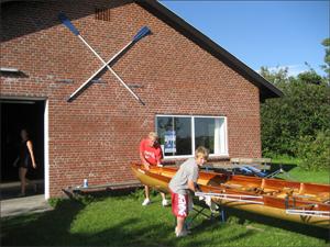 ruderhaus ruderverein hoyer